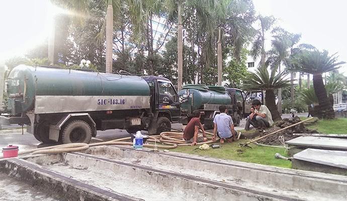 Hút hầm cầu giá rẻ tại huyện Bình Chánh