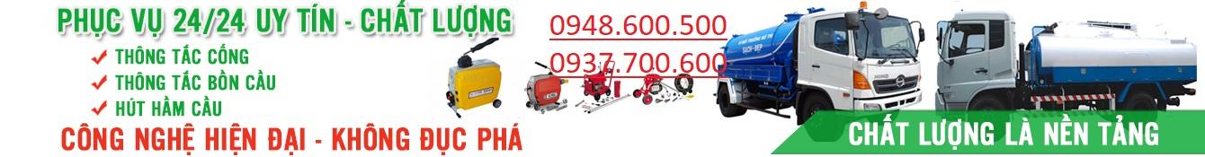 HÚT HẦM CẦU QUẬN BÌNH THẠNH 0919.600.500