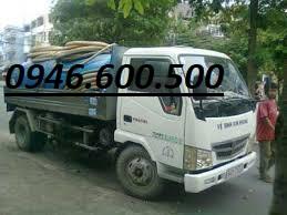 hút hầm cầu đường Cộng Hòa - quận Tân Bình
