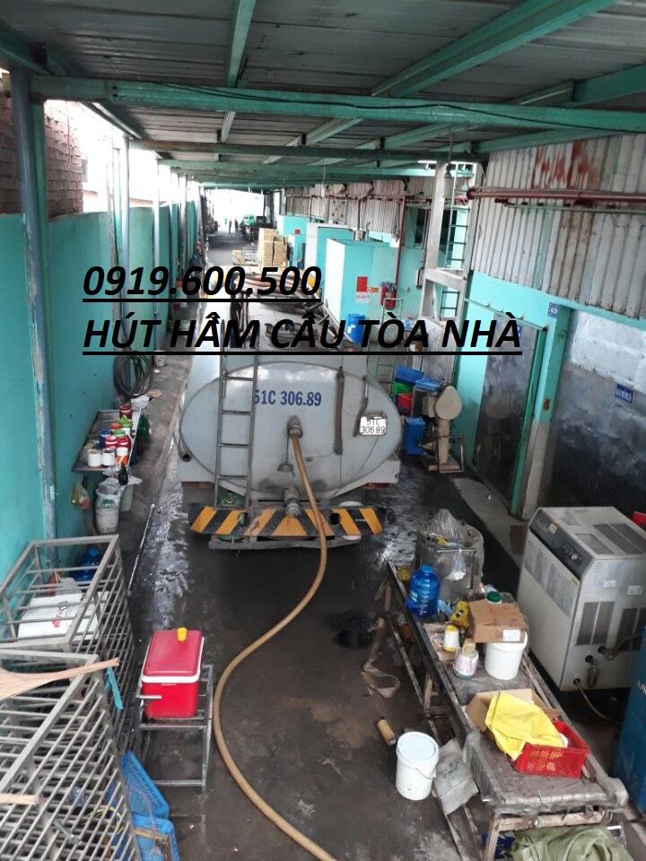 Hút Hầm Cầu Quận Bình Tân.