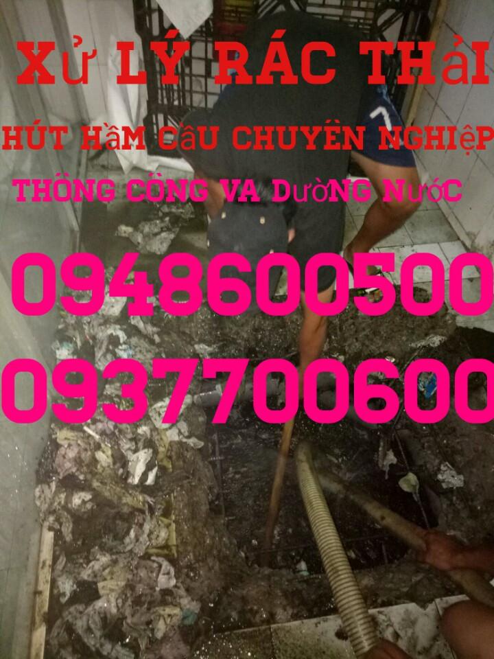 Hút Hầm cầu An Lạc Quận Bình Tân 0948600500