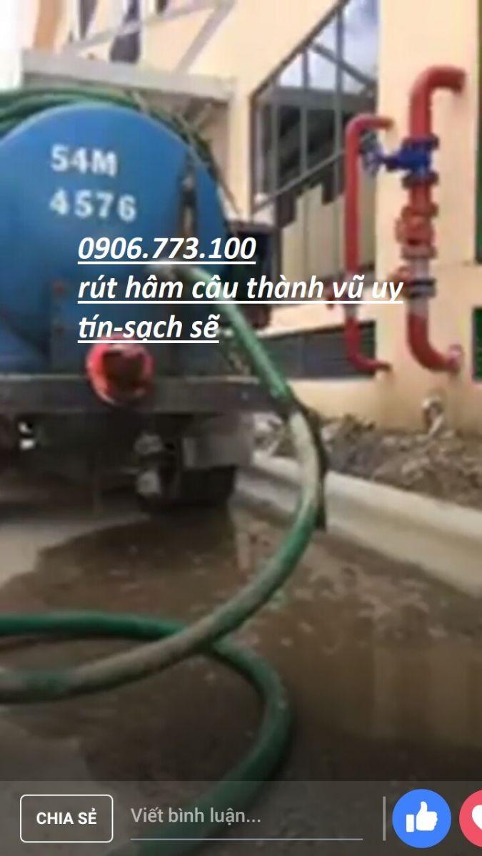 Rút hầm cầu đường Hoàng Diệu 0937.700.600