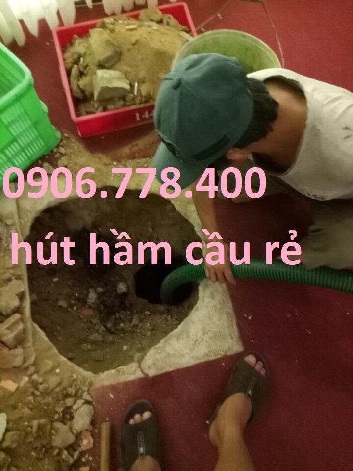 HÚT HẦM CẦU GIÁ RẺ GÒ VẤP 0967.488.188